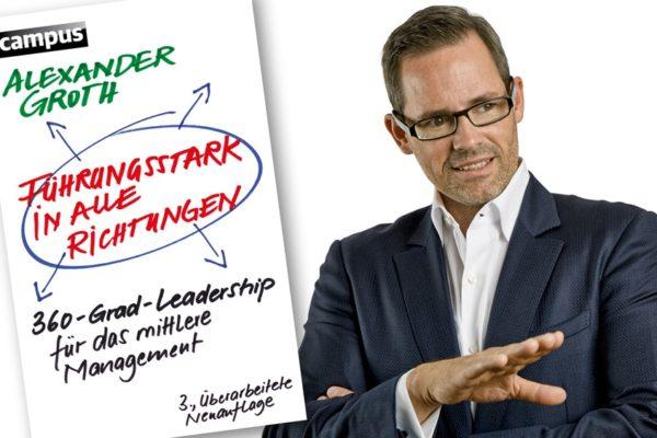Buchkritik Führungsstark in alle Richtungen Alexander Groth