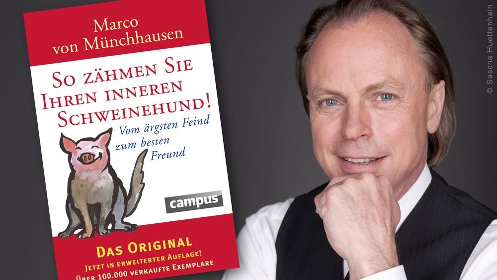 Buchkritik So zähmen Sie Ihren inneren Schweinehund Marco von Münchhausen