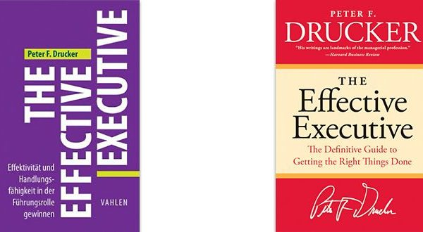 Buch: The Effective Executive - Autor: Peter F. Drucker