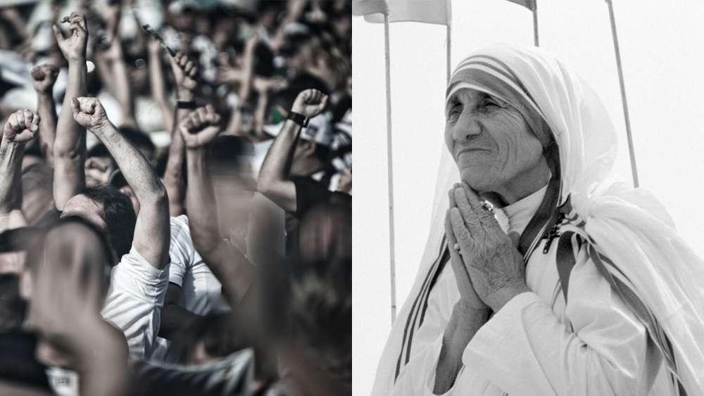 Mutter Teresa Führung Mut