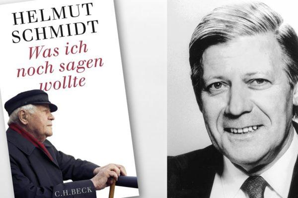 Buchkritik Was ich noch sagen wollte Helmut Schmidt