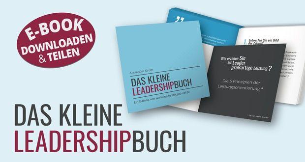 Das kleine Leadership Buch als PDF zum Download - Leadership News
