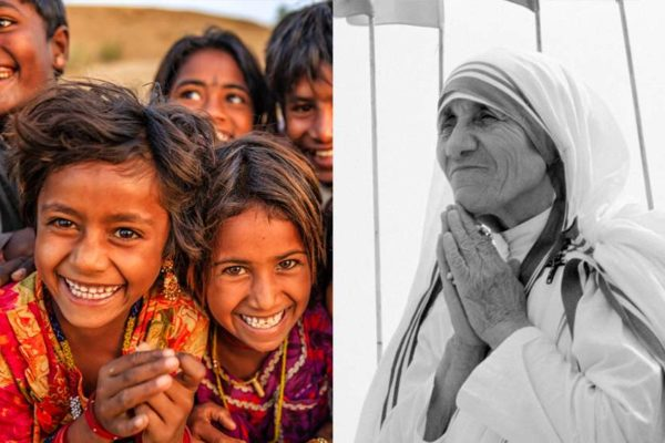 Mutter Teresa Führung Fröhlichkeit
