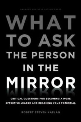 Buchkritik What to ask the person in the mirror