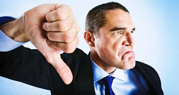 Führungsfehler Negativität