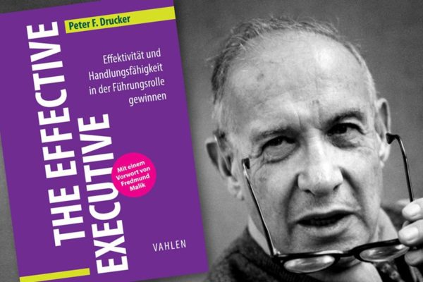 Buchkritik The effective executive Peter F. Drucker